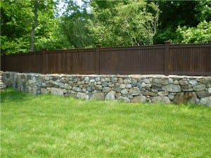 Residential Wood Privacy Fence in Danbury, Connecticut