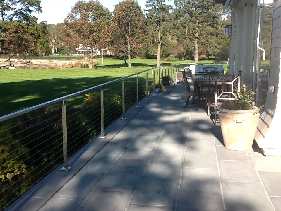 Stainless Steel Riverside Fence