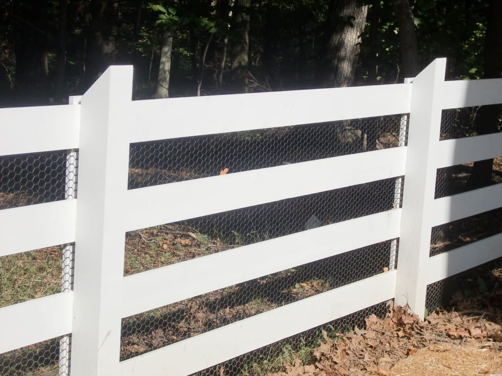 Flat Rail Farm Paddock Fence Riverside Fence