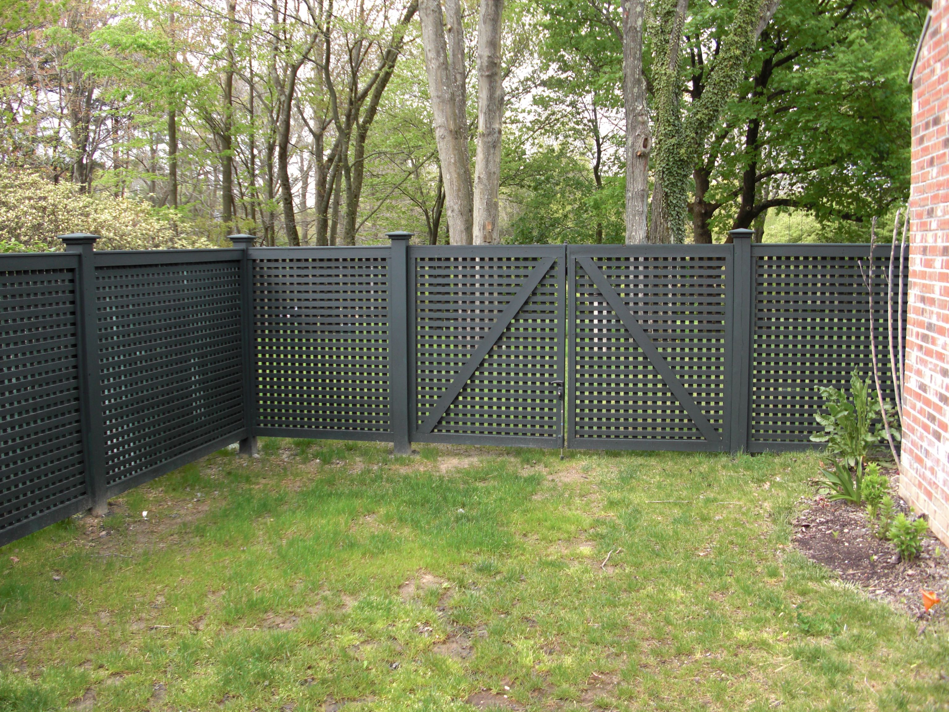 Riverside Fence 187 Lattice 2