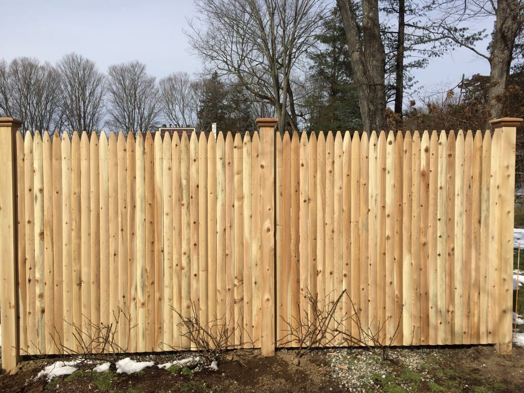 Stockade 2 Riverside Fence