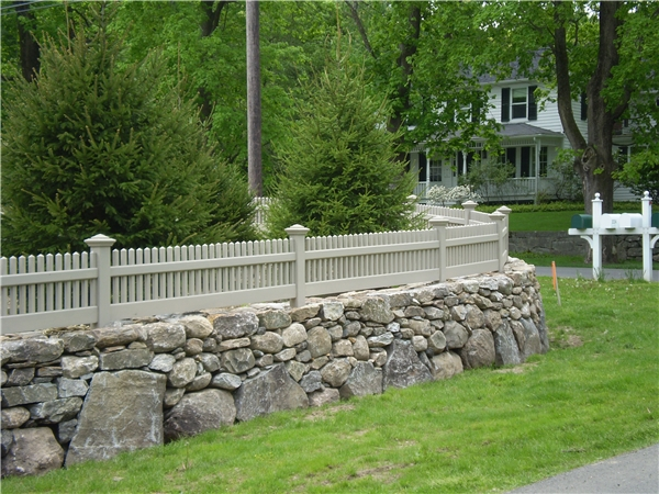 Cedar Connecticut Picket Fence Portfolio By Style