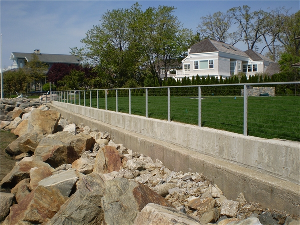 Seawall Cable Rail In Darien Ct Portfolio By Location