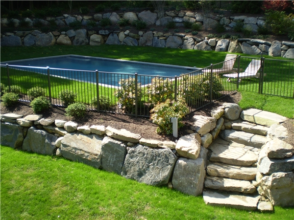 Bronze Aluminum Fence In Stamford Ct Riverside Fence