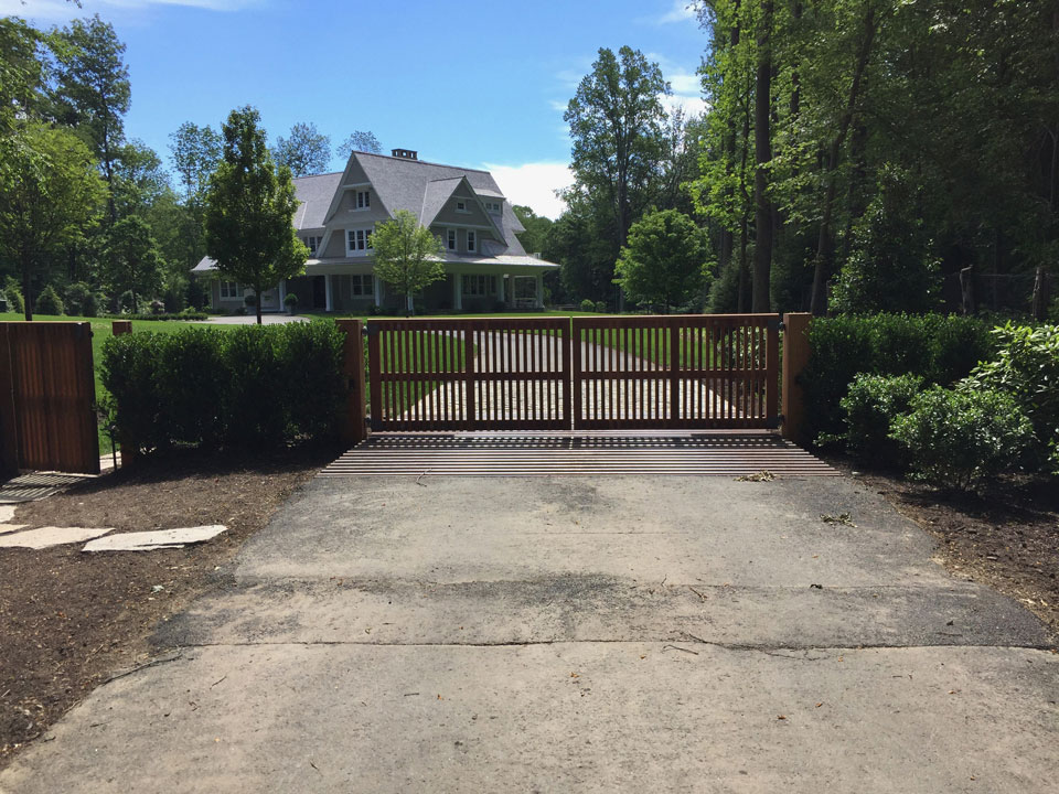 Driveway Gates - Fence and Gate Styles | Riverside Fence