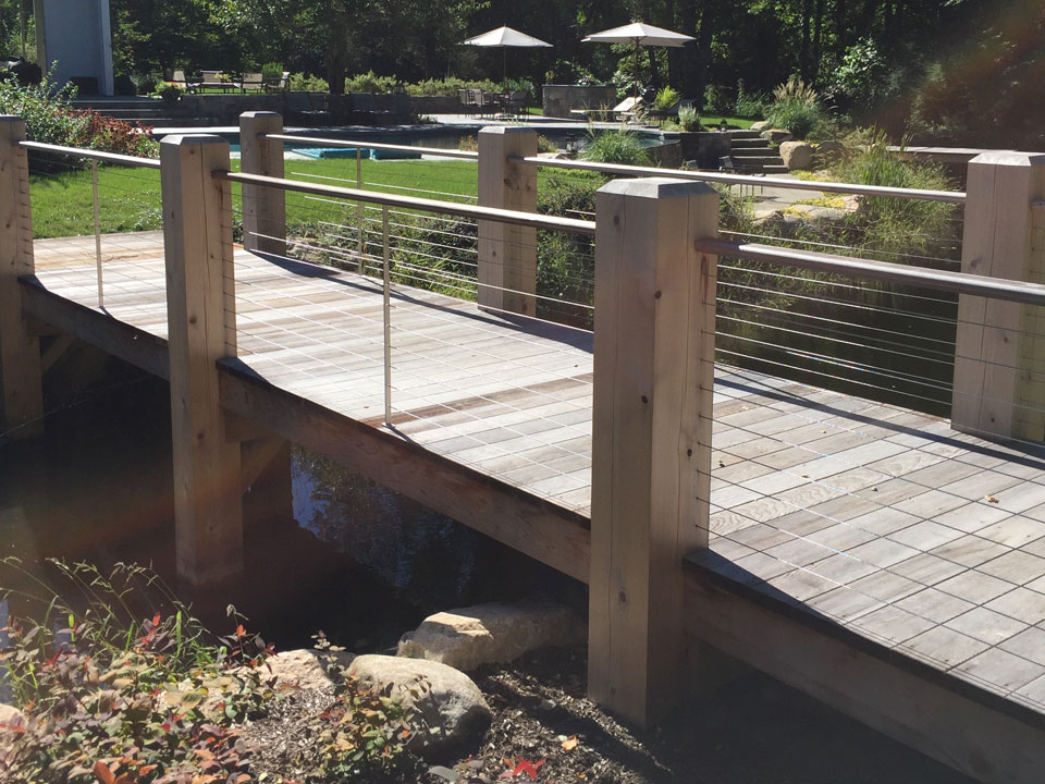 Riverside Fence Special Projects - Bridges